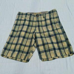 Boys Abercrombie Plaid Shorts - 16